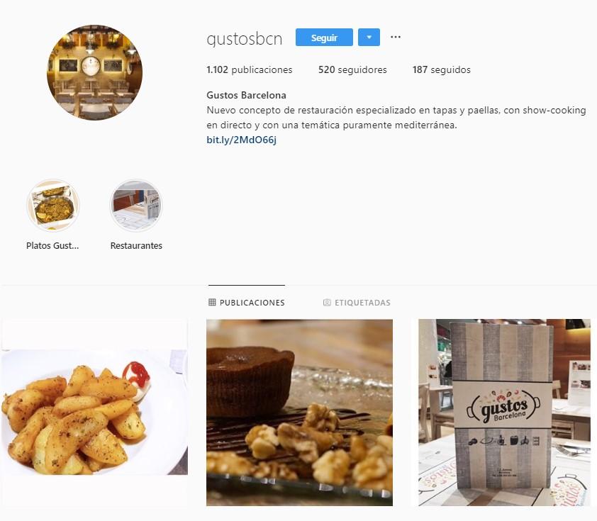 instagram franquicia de paellas gustos barcelona y madrid