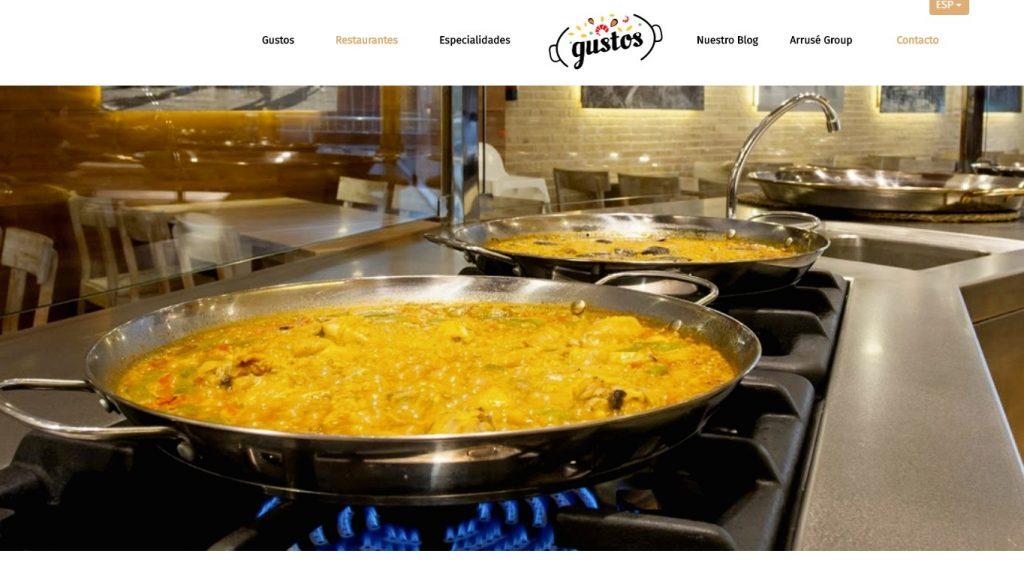 marca de paellas gustos - franquicia en barcelona y madrid
