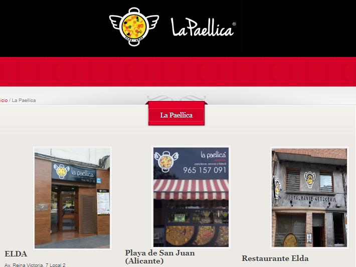 marcas de paellas valencianas - arroces de alicante