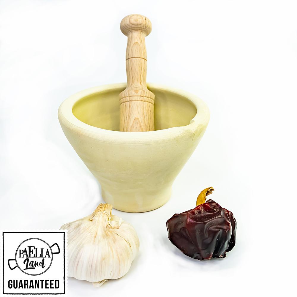 morter i boix alacantí - mortero alicantino para paella - sin esmaltar