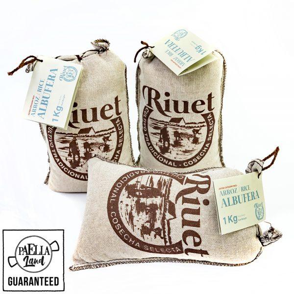 Le riz Albufera dénomination d'origine Valencienne de culture traditionnelle