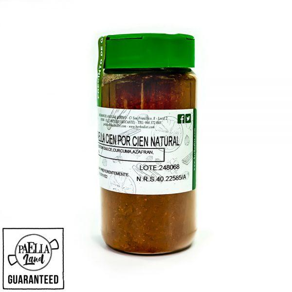 sazonador paellero 100% natural - colorante natural para paella