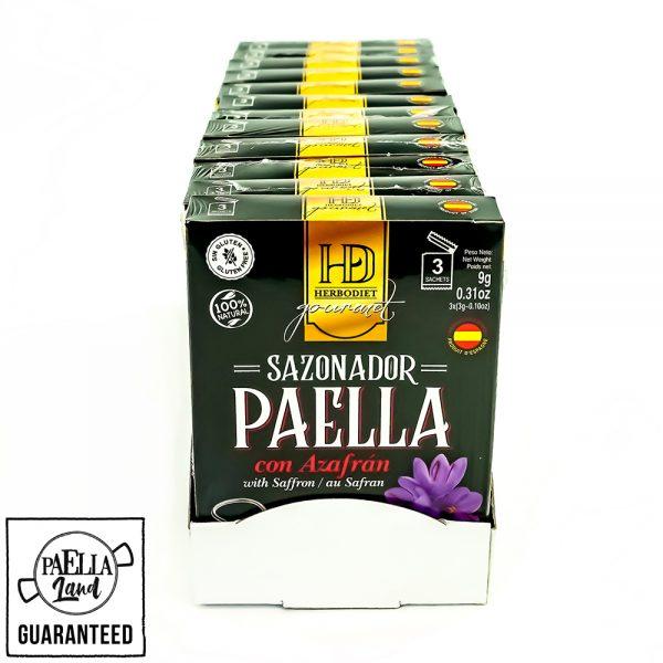sazonador para paella sin colorante artificial 100% natural